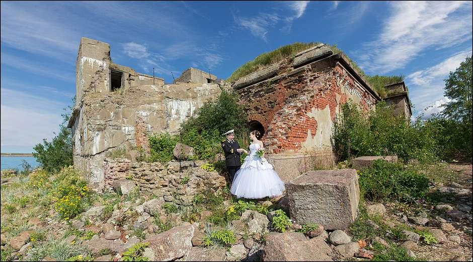 Александр и Татьяна: на фортах Кронштадта