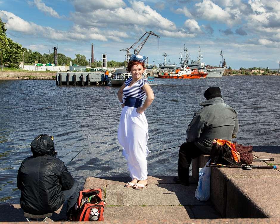 Стас и Оксана: фотосессия в морской тематике